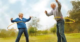 Pensionskasse: Senioren machen Sport